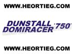 Dunstall Norton Domiracer 750 Fairing Transfer Decal D20084F-2